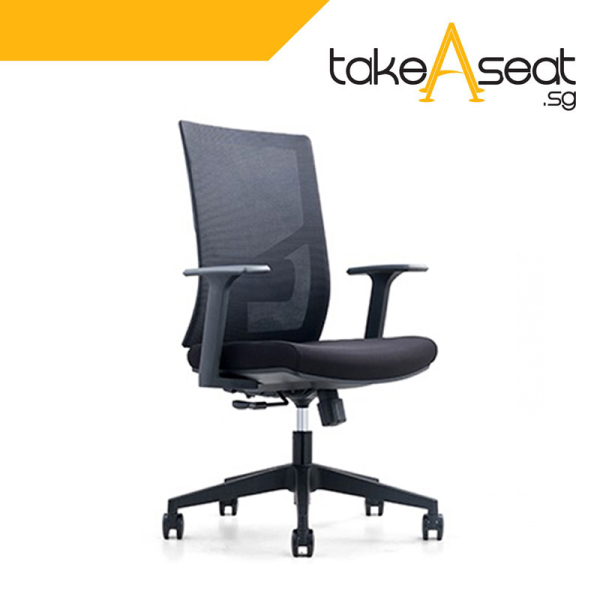 M15 Office Chair Without Headrest (Self Setup) Singapore