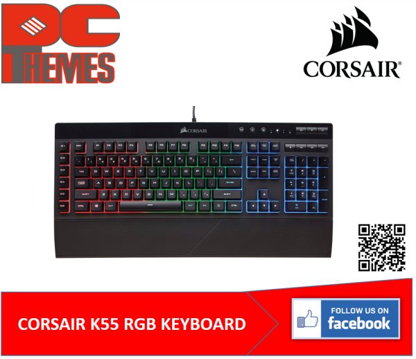 CORSAIR K55 RGB GAMING KEYBOARD Singapore