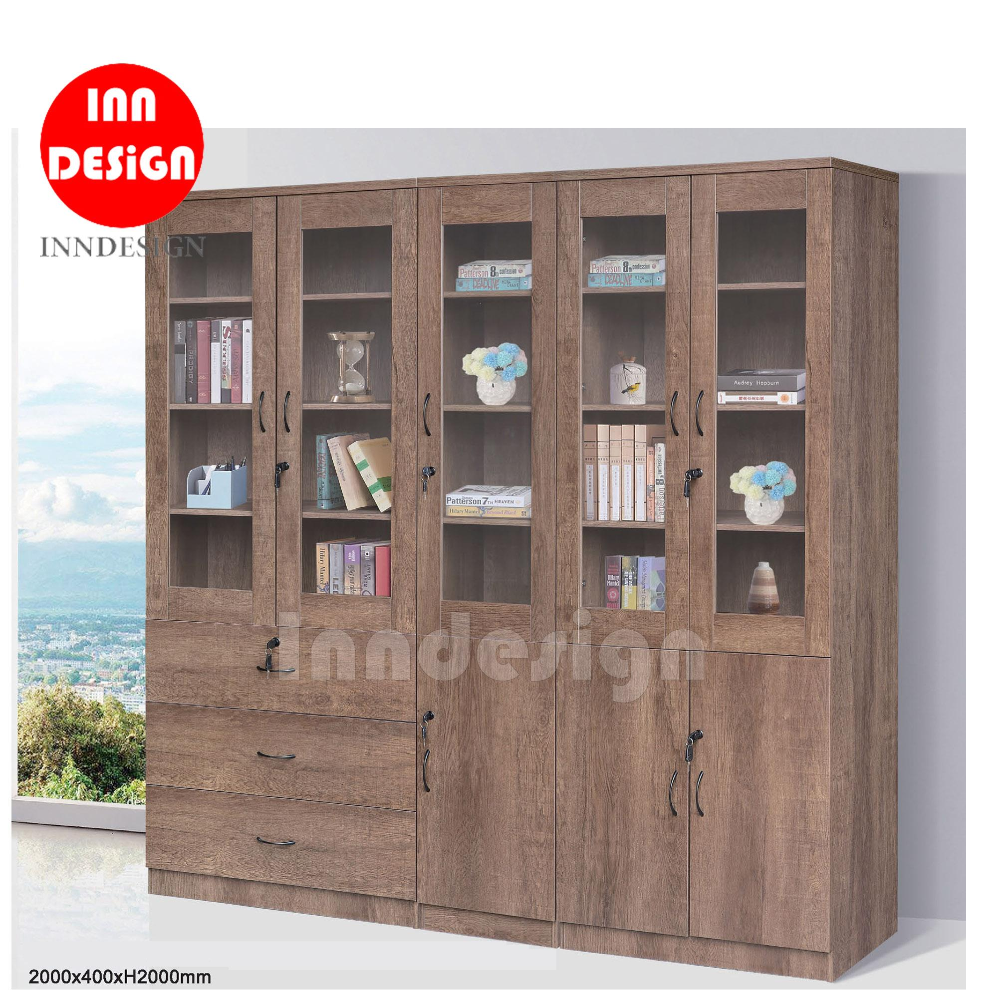 Vibre Display Bookshelf / Cabinet