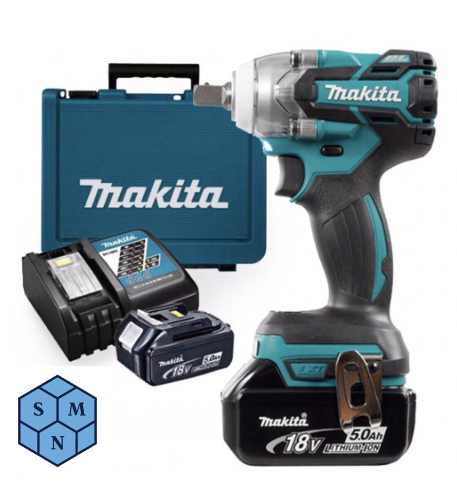 SMN Makita DTW285RTE DC Impact Wrench 18V