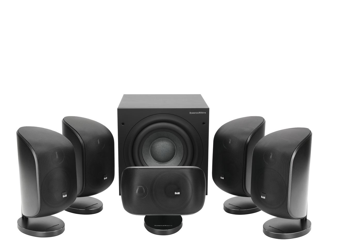 Bowers & Wilkins MT 50 Atmos 5 1 2 Home Theatre Setup