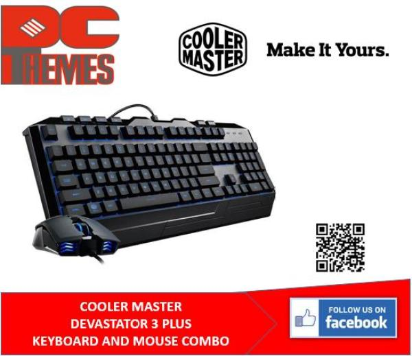 COOLER MASTER DEVASTATOR 3 PLUS SEVEN-COLOR HYBRID MEM-CHANICAL GAMING KEYBOARD & MOUSE COMBO Singapore