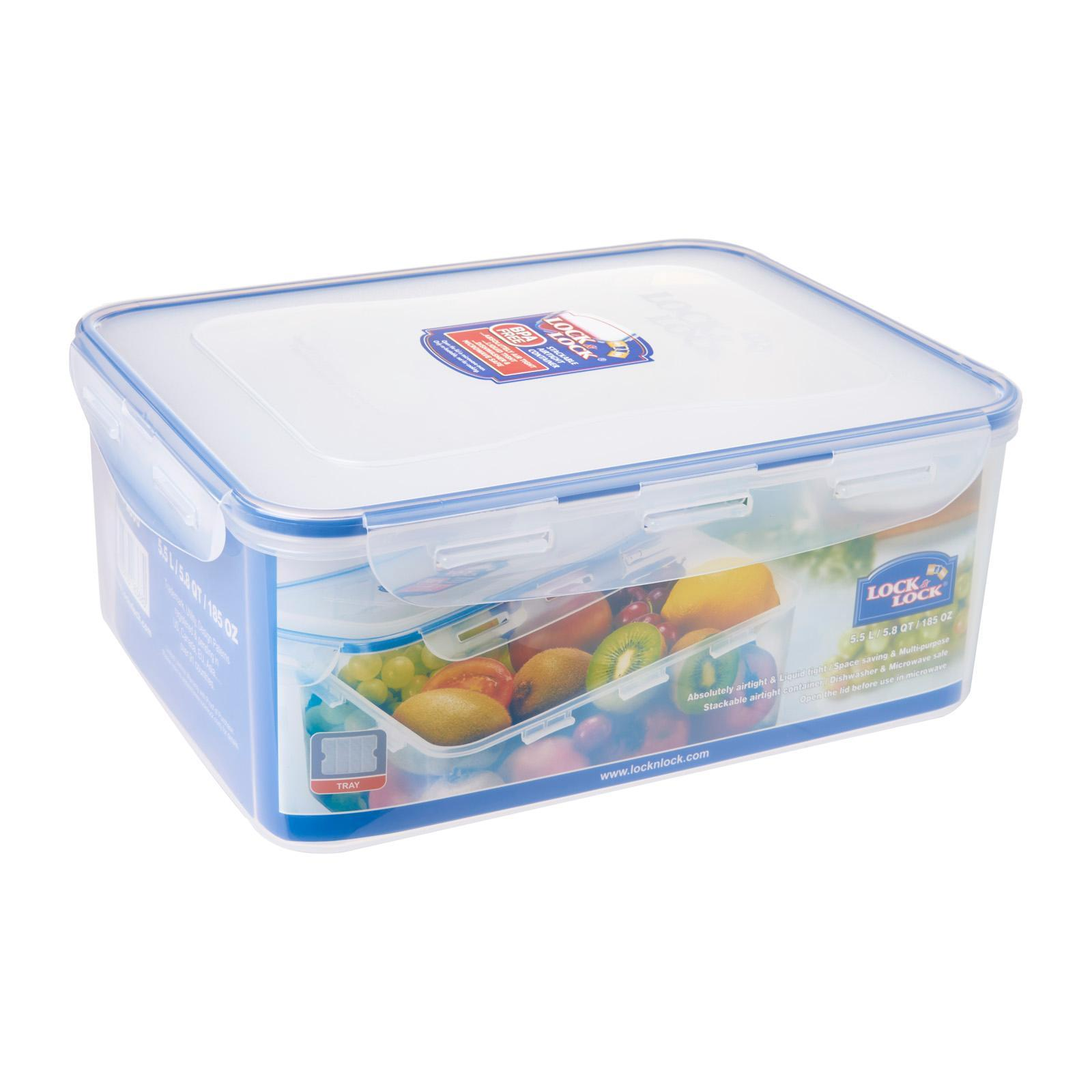 Lock and Lock Classic Food Container 5.5L