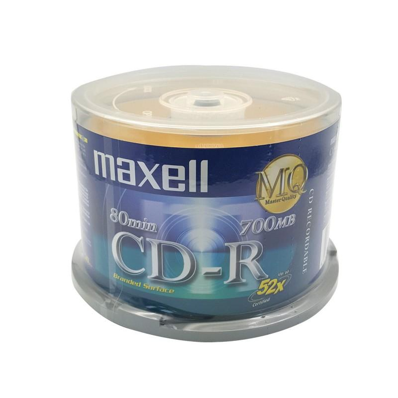 Maxell CDR 52X 80MIN 50PCS