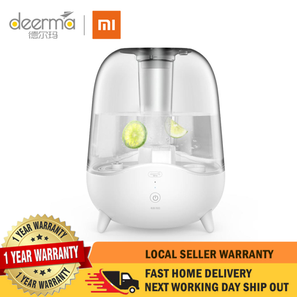 【1 Year Local Warranty】XIAOMI DEERMA Ultrasonic 5L Air Humidifier DEM-F325 Singapore