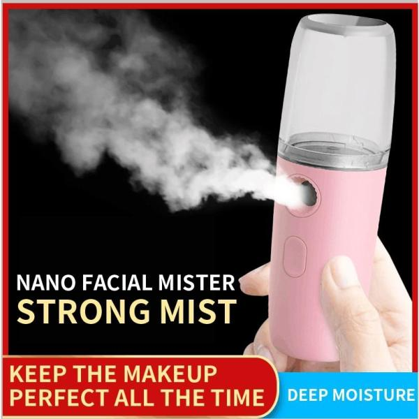 Buy Portable Nano Mist Sprayer Facial Body Neutralizer Face Steamer Moisturizing Skin Care Mister Singapore