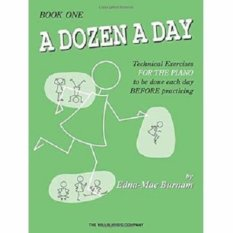 A Dozen A Day Book 1 by Edna-Mae Burnam - Edna Mae Burnam - The Willis Music Company