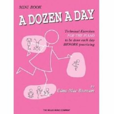 A Dozen A Day Mini Book by Edna-Mae Burnam - Edna Mae Burnam - The Willis Music Company