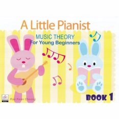 A Little Pianist Music Theory For Young Beginners Book 1 - Piano Book - Music Book - Absolute Piano - The Music Works Store MB1