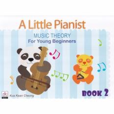 A Little Pianist Music Theory For Young Beginners Book 2 - Piano Book - Music Book Kua Kean Cheong - Absolute Piano - The Music Works Store MB1