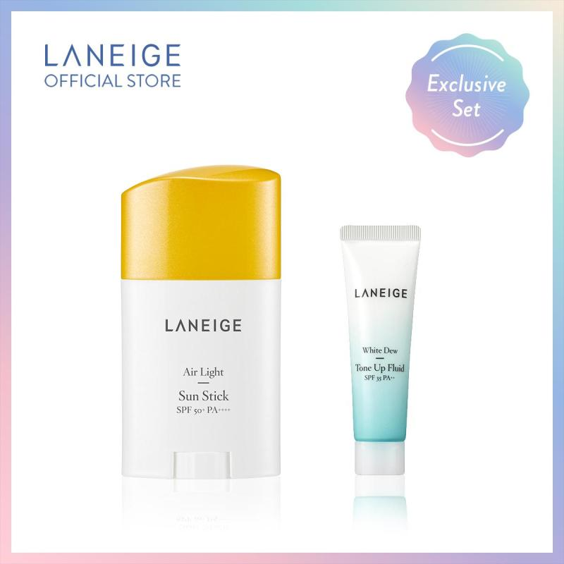 Buy [EXCLUSIVE SET] LANEIGE Air Light Sun Stick SPF50+PA++++ 26g Singapore