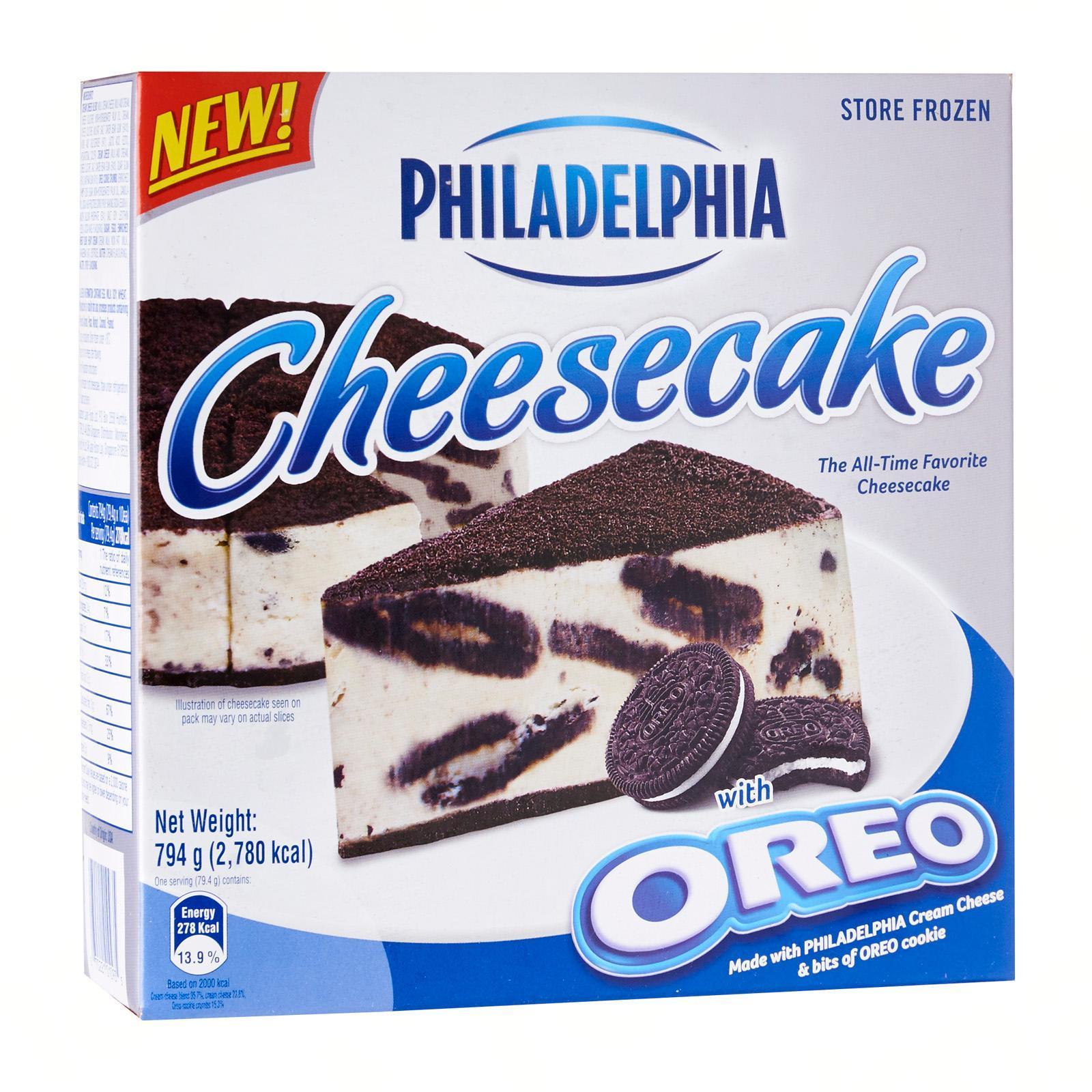Philadelphia Oreo Cheesecake - Frozen