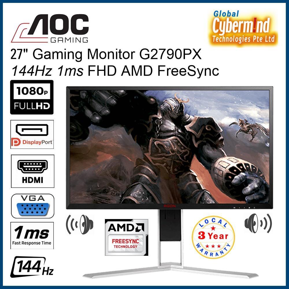 AOC 27  inch Gaming Monitor G2790PX 144Hz 1ms