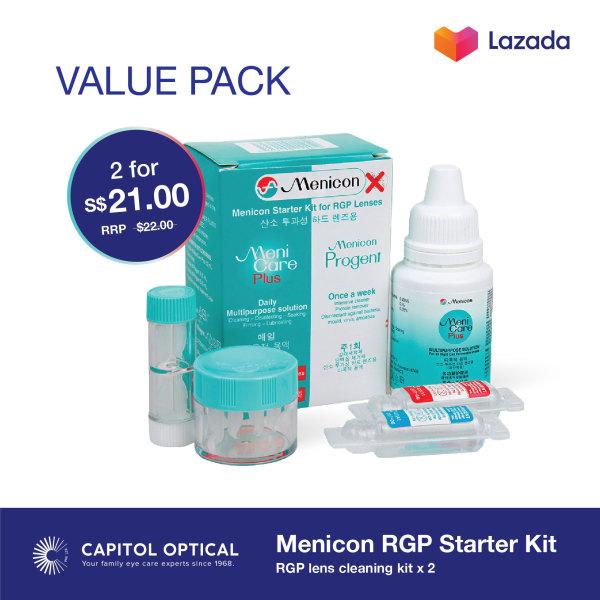 Buy Menicon RGP Starter Kit (2 pack) Singapore