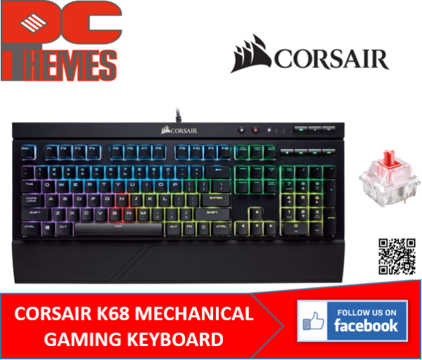 CORSAIR K68 MECHANICAL GAMING KEYBOARD Singapore