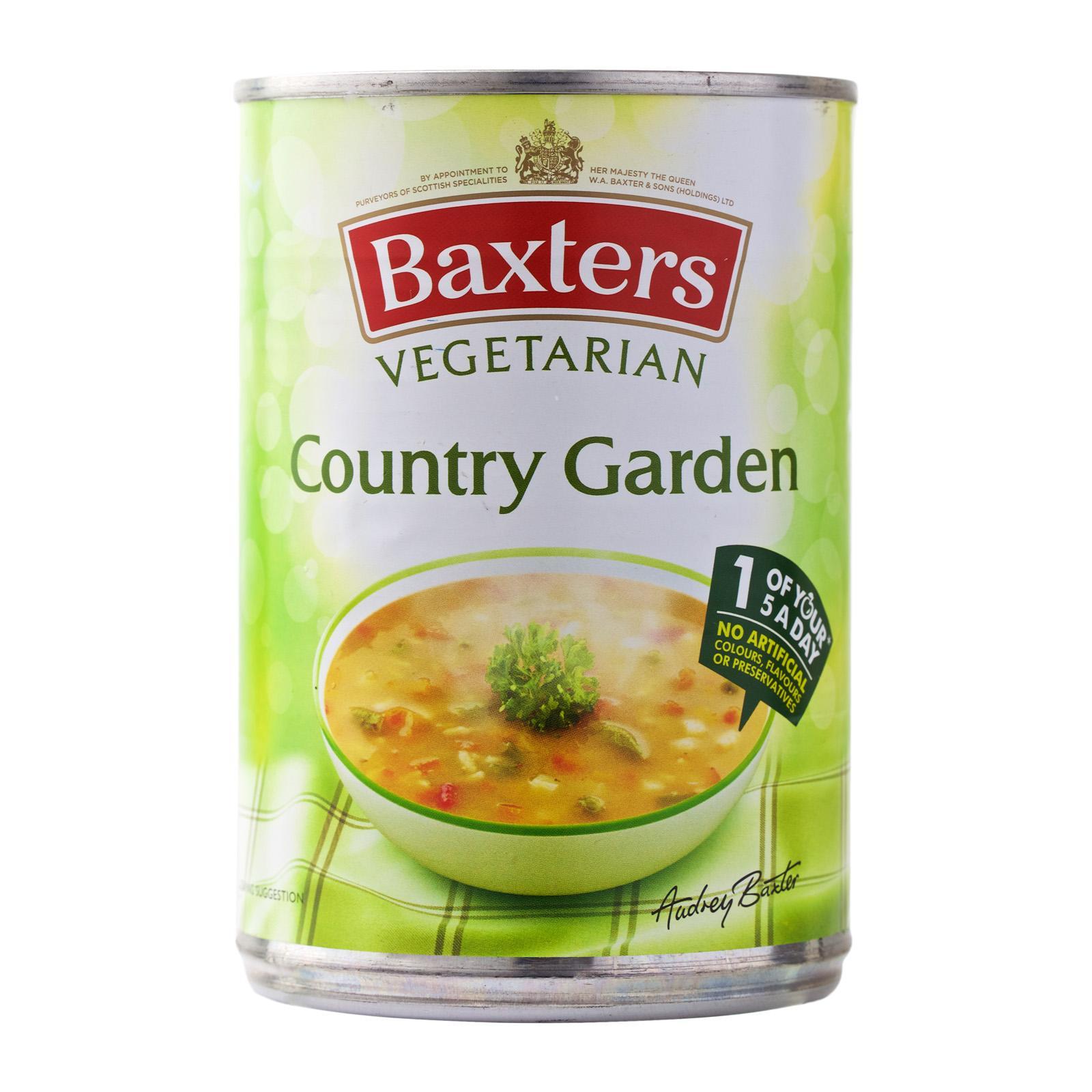 Baxters Vegetarian Country Garden 400G