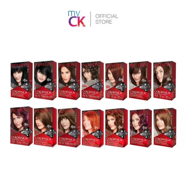 Buy (Bundle of 2) Revlon ColorSilk Hair Color Singapore