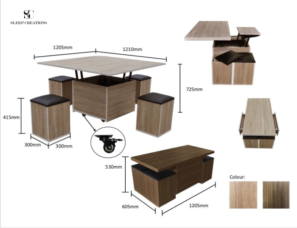 Tahi Multi Functional Coffee Table
