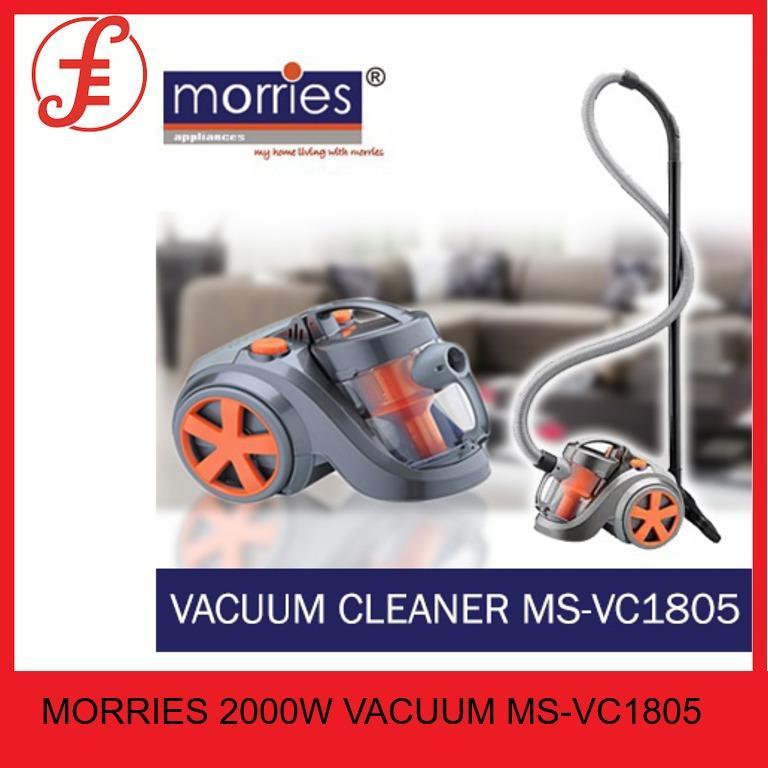 MORRIES MS VC1805 2000W VACUUM CLEANER (MS-VC1805)