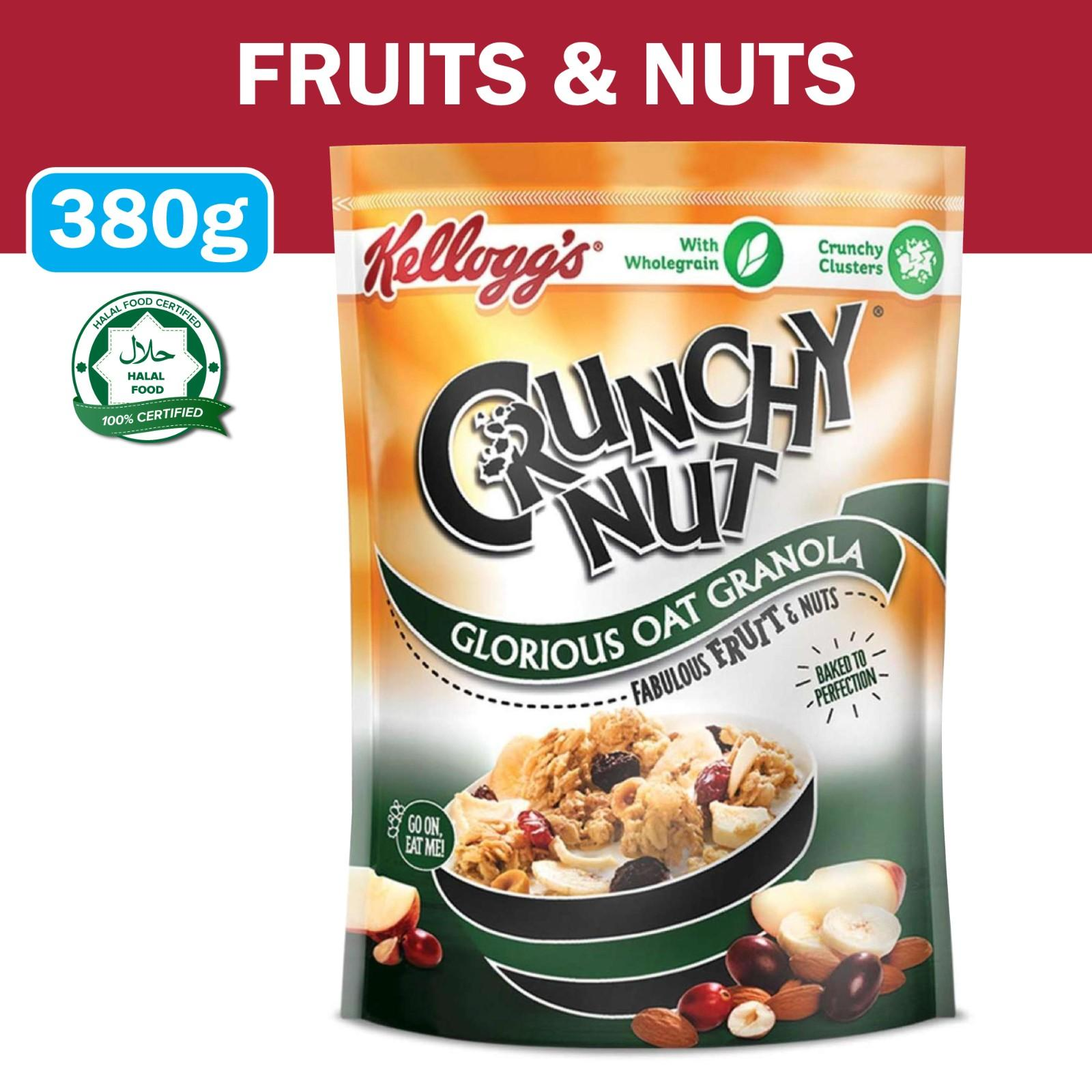 Kellogg's Fruit And Nuts Crunchy Nut Oat Granola