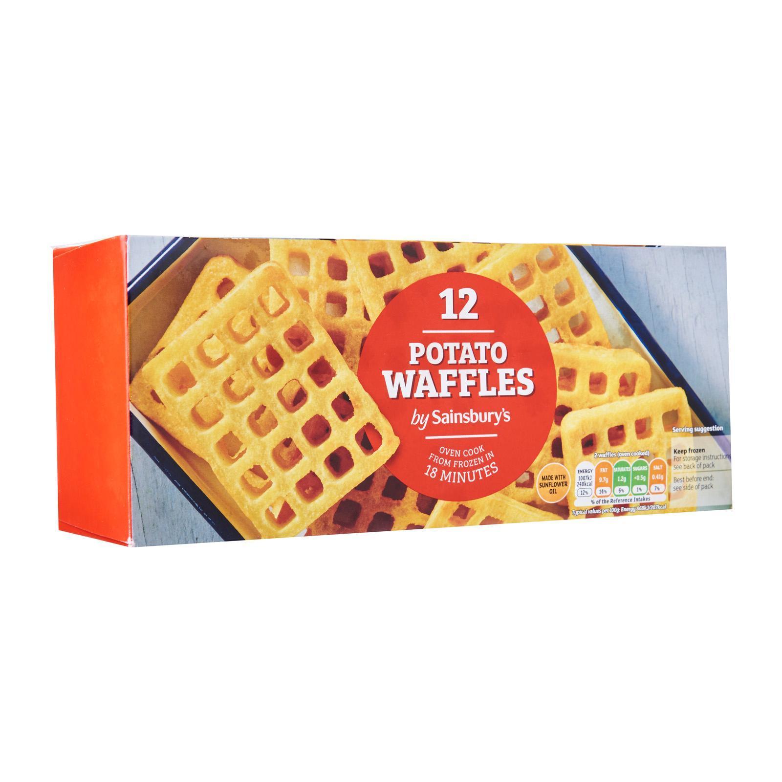 Sainsbury's Potato Waffles - Frozen