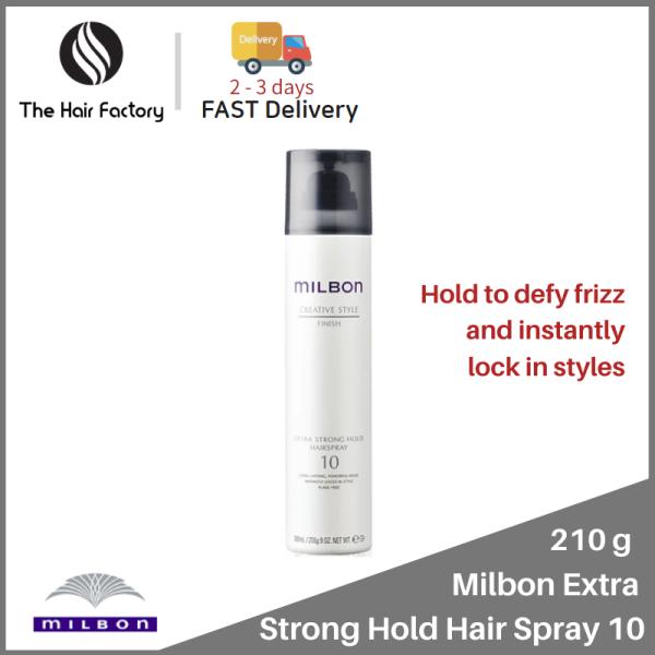 Buy Milbon Extra Strong Hold Hair Spray 10 - 210g Singapore