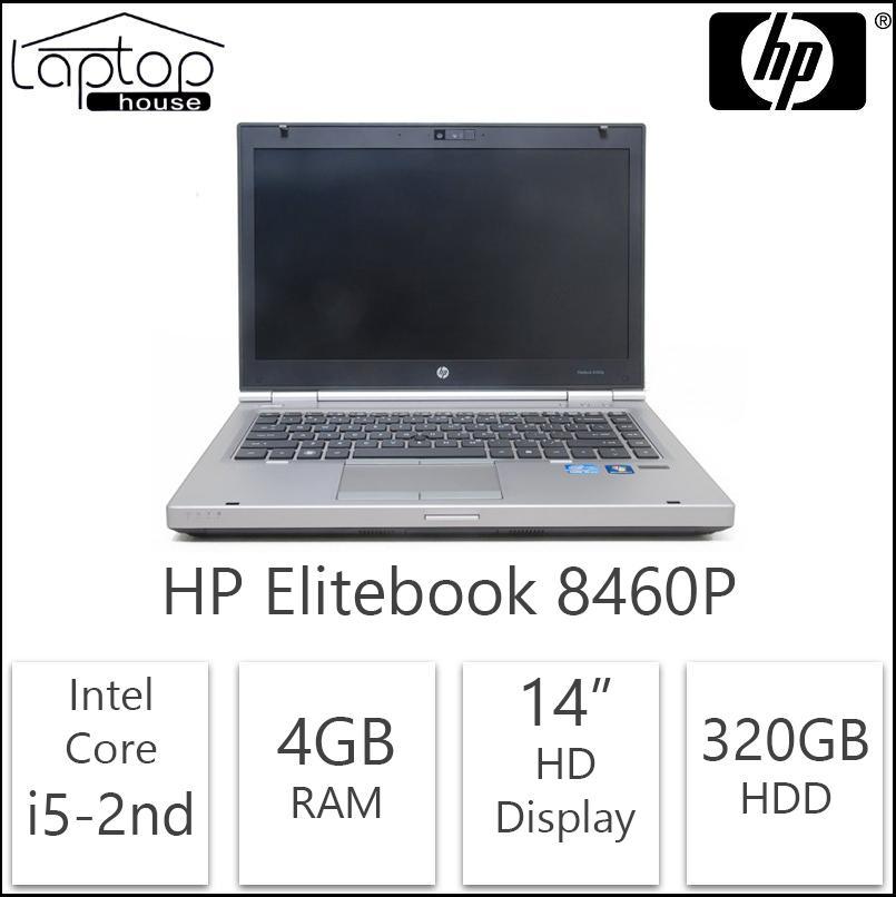 HP Elitebook Laptop 8460 i5 2nd Gen / 320GB HDD/ 4GB RAM