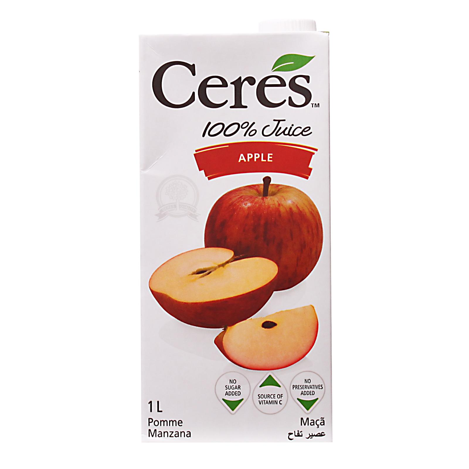 CERES Apple 100% Juice 1L