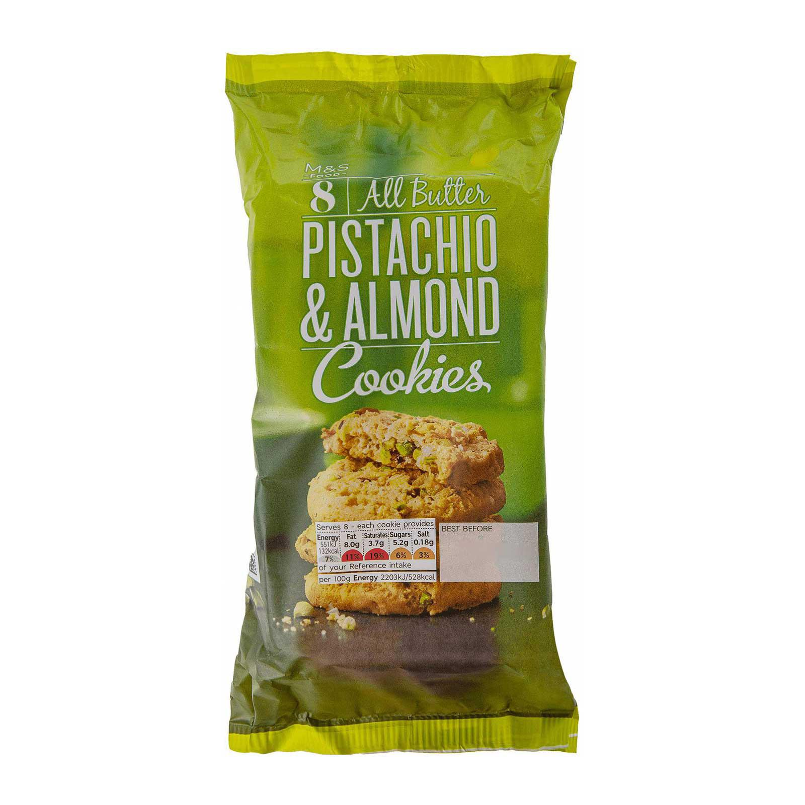 Marks & Spencer All Butter Pistachio and Almond Cookies