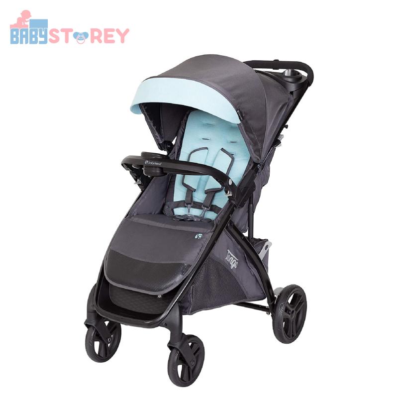 [Baby Storey] Baby Trend Tango™ Stroller - Blue Mist Singapore