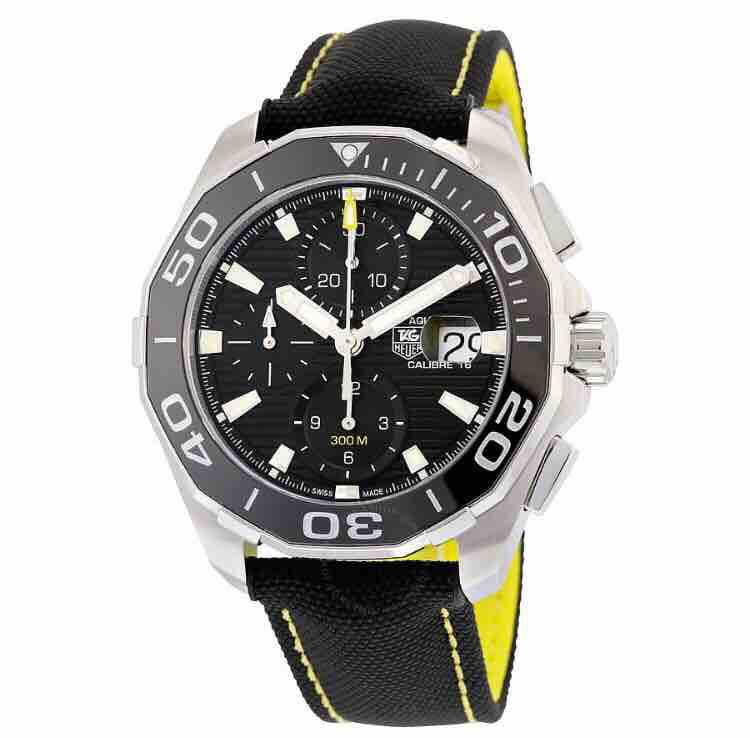 Tag Heuer Aquaracer Automatic Chronograph Men S Watch Cay211a Fc6361tag