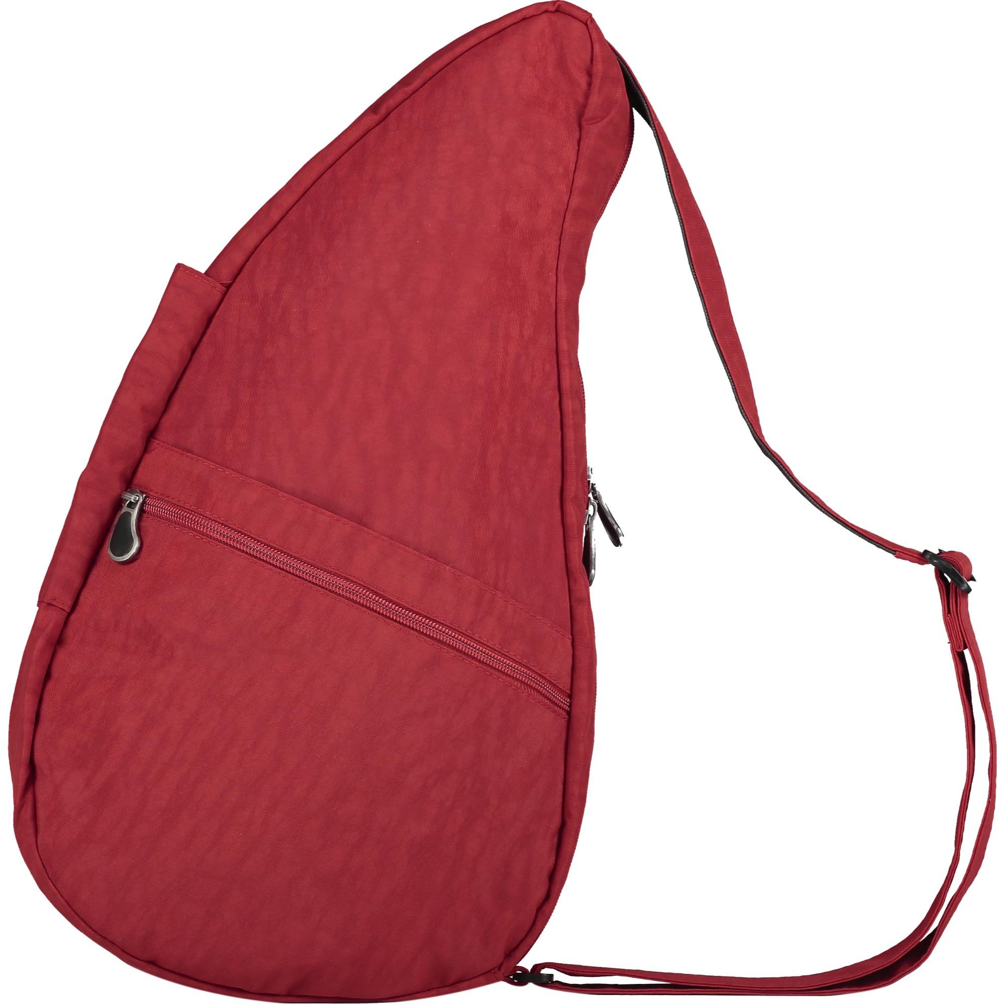 Healthy Backbag Textured Nylon - Crimson