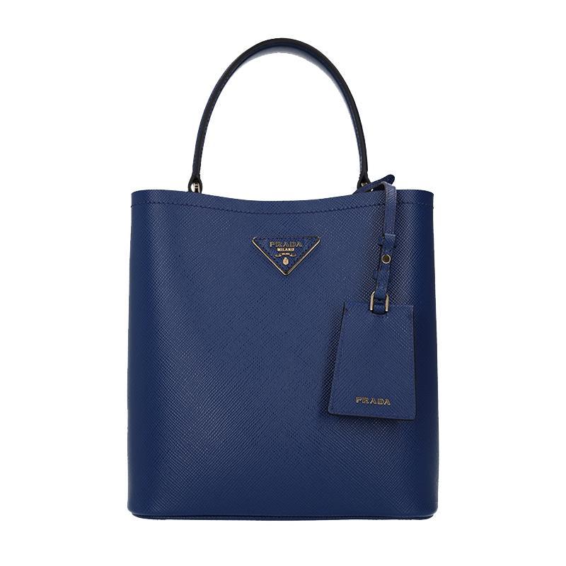 b92cacf95ff8 NEW ARRIVAL PRADA Double Medium Bag 2019 Spring Summer Collection Blue  1BA212