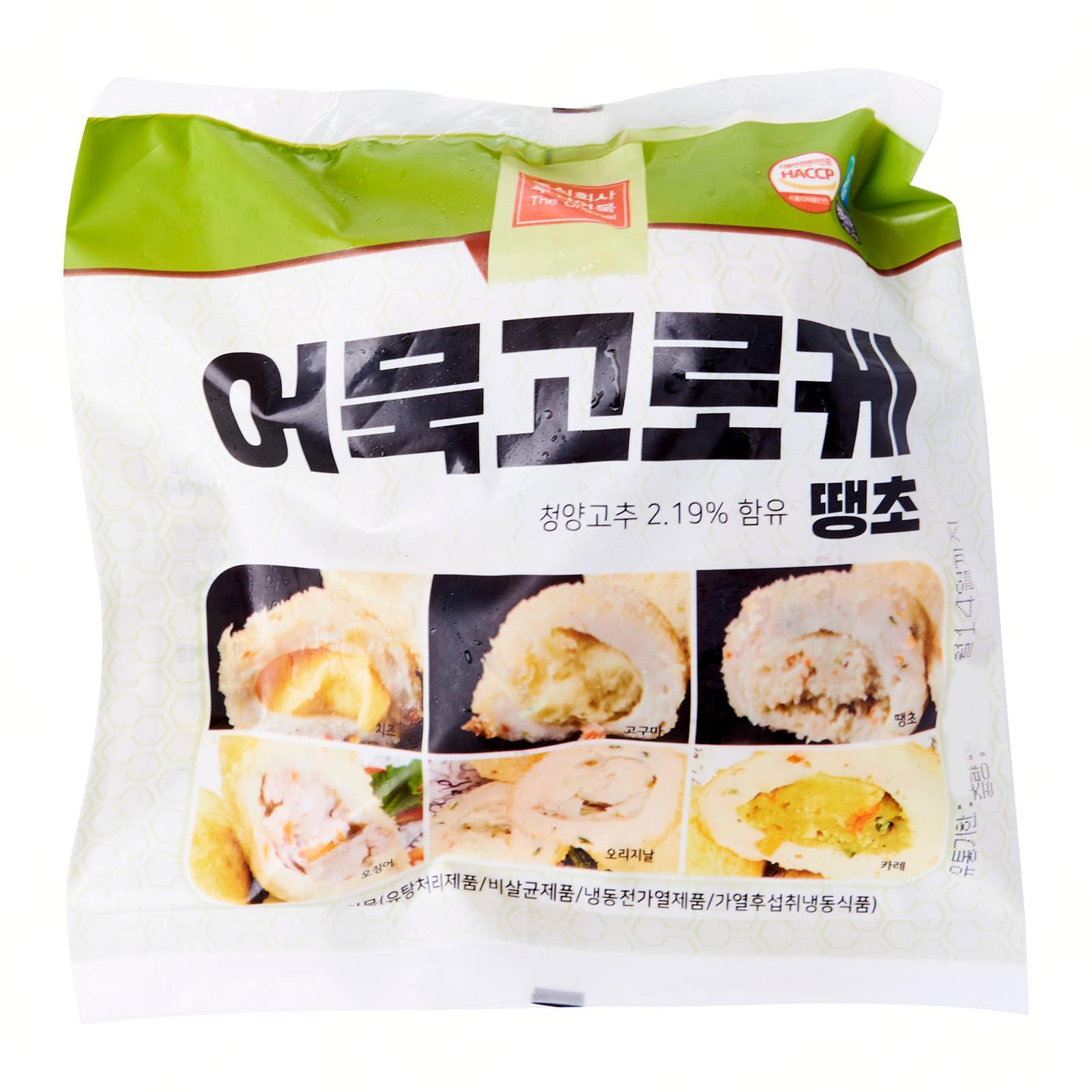 Suhyup Korean Fish Cake Croquette with Spicy Pepper - Frozen