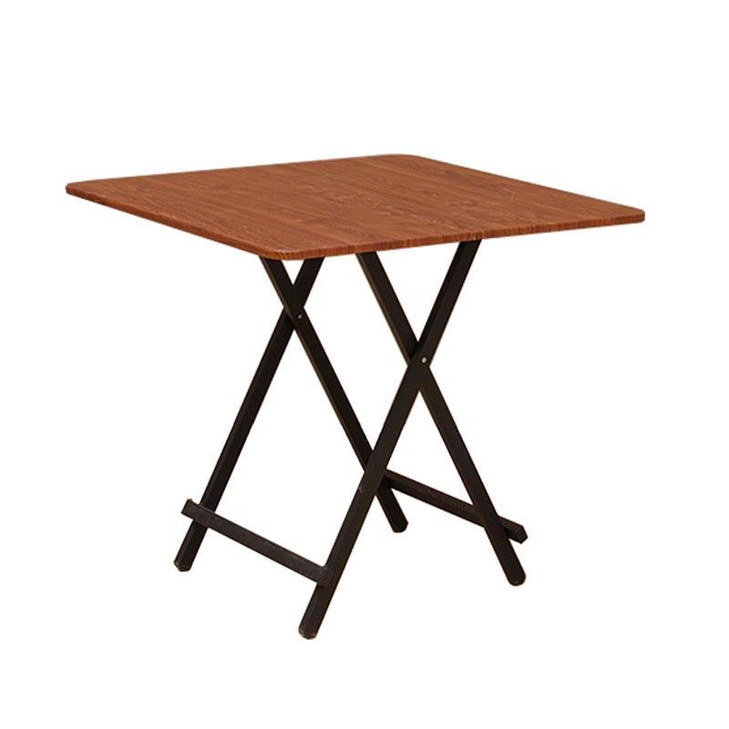 SOL HOME ® Midfold Foldable Table 80cm (w) x 80 cm (b) x 74 cm (h) by ShopOnlineLah (Furniture)