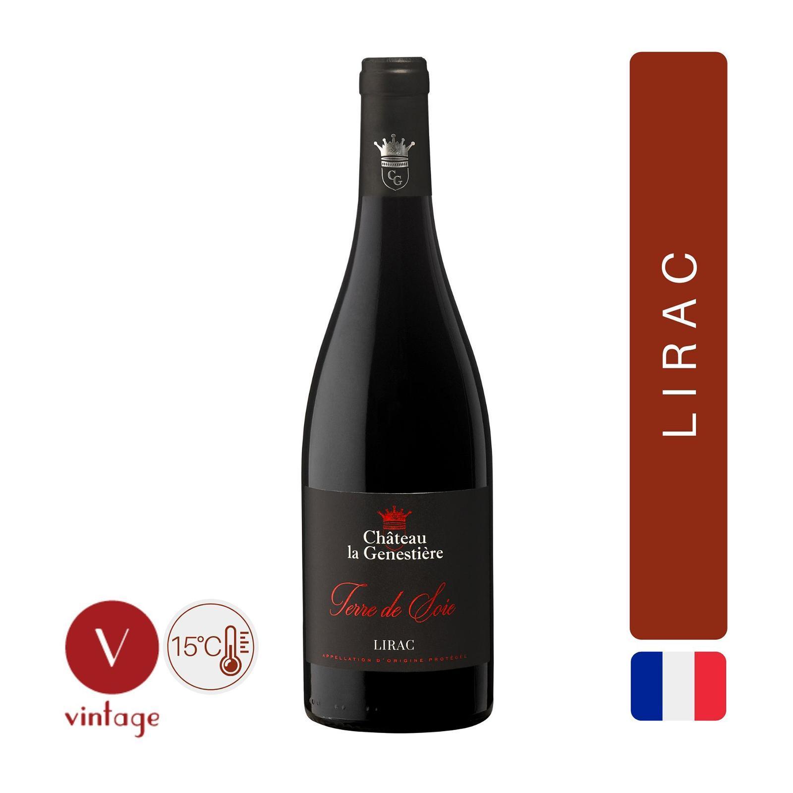 Chateau la Genestiere - Terre de Soie - Red Wine - By The Vintage Wine Club