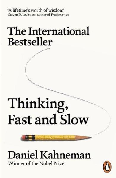 Thinking, Fast and Slow by Daniel Kahneman (9780141033570)