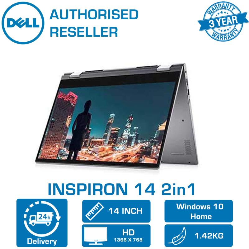 DELL INSPIRON 14 2in1 Gray (i7-2021 CPU   16GB   512GB   INTEL Xe   14   WIN-10   MS-OFFICE 365P) 3YRS WRNTY