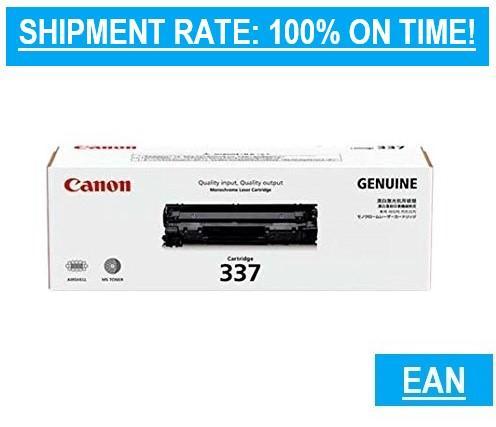 Canon Cart 337 Blk Toner For: (imageclass) (satera) Mf211, Mf212w, Mf221d, Mf215, Mf226dn, Mf217w(black) By Ean.