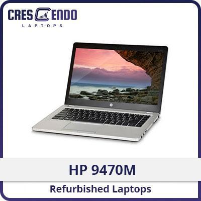 [Refurbished] HP 9470M Laptop / Intel I5 / 14 Inch / 4GB RAM / 180GB SSD / One Month Warranty