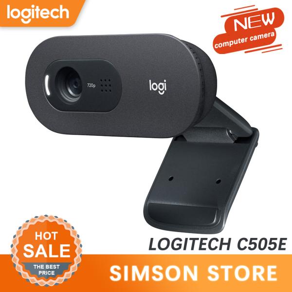 Original Logitech Webcam C270 C270i C505e HD 720p IPTV Online Teaching Beautification Teleconference Meeting Wide-Angle Camera Webcam