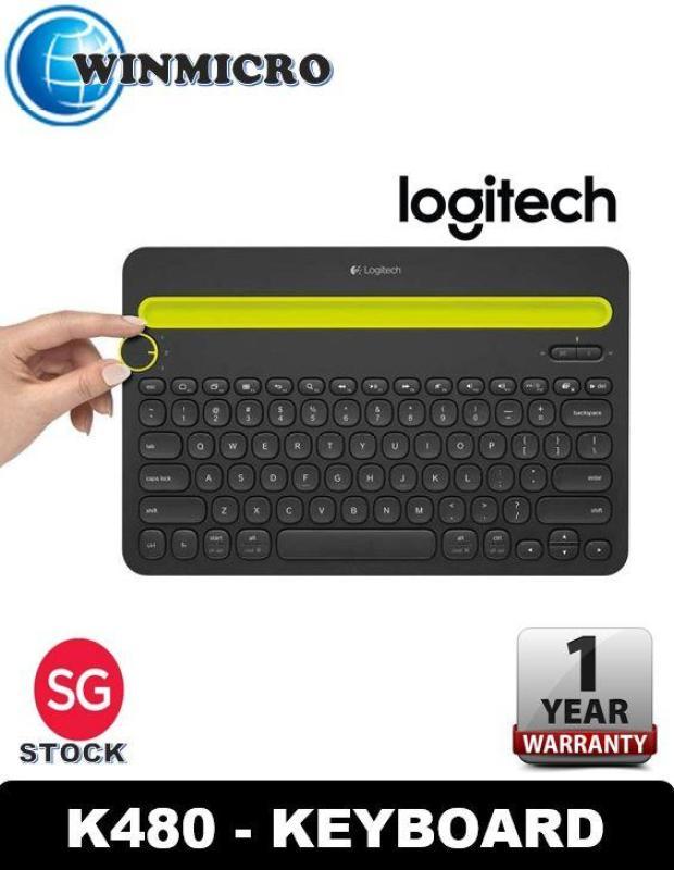 Logitech K480 Bluetooth Multi Device Keyboard (Local Distributor Stock) Singapore