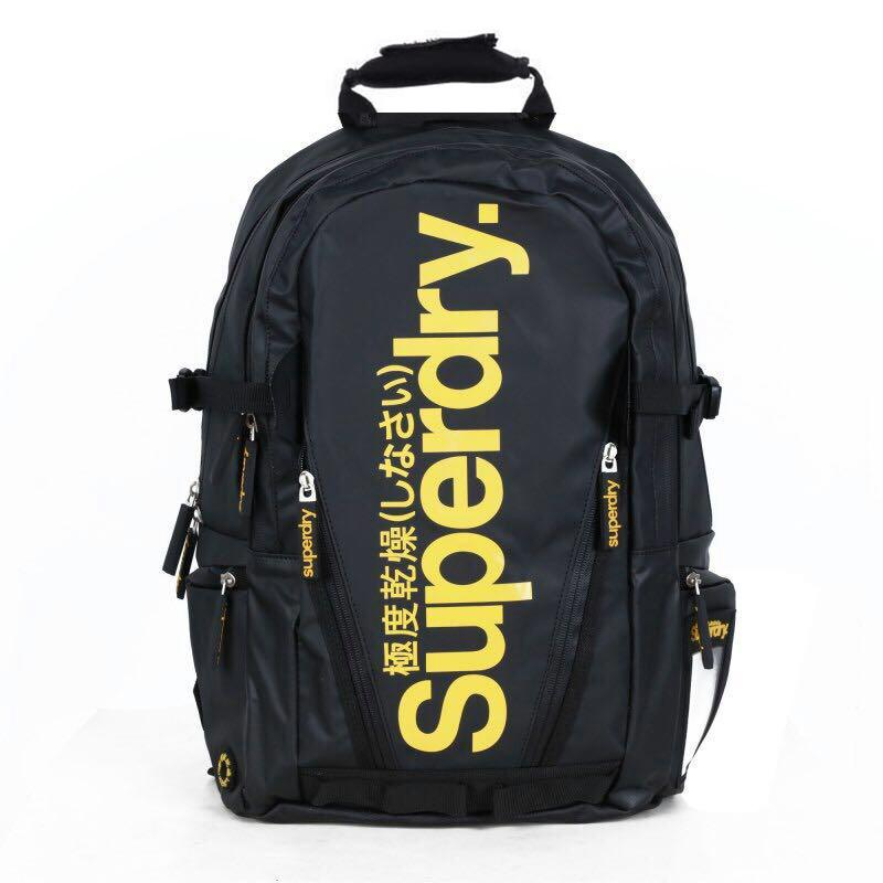 Original Superdry fully waterproof backpack  extremely dry tarpaulin material 17 inch