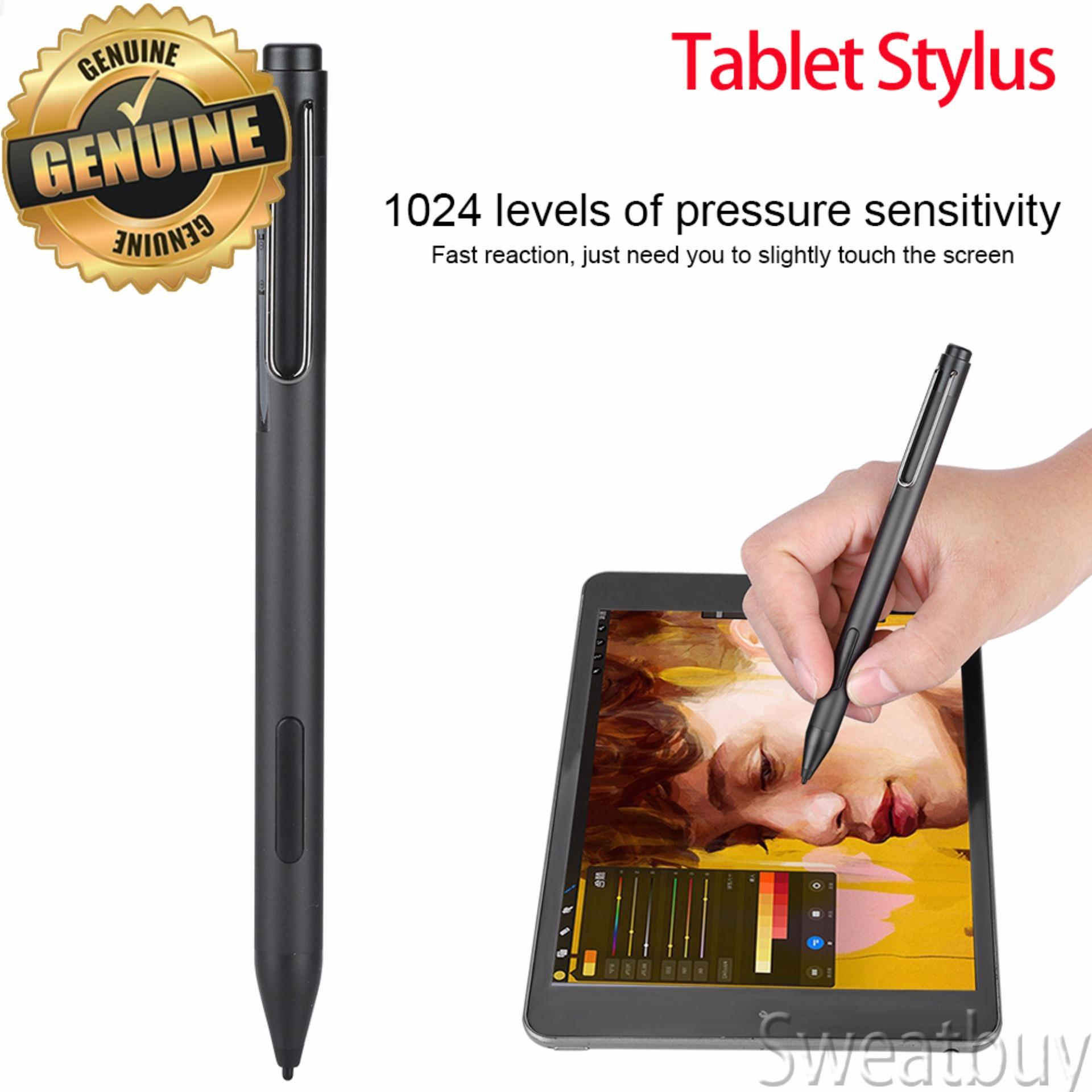 【Shipping in 24 Hours】Active Stylus PenProfessional Portable Touch Screen  Active Tablet Stylus Pen for Surface Pro3 Pro4 Black - intl