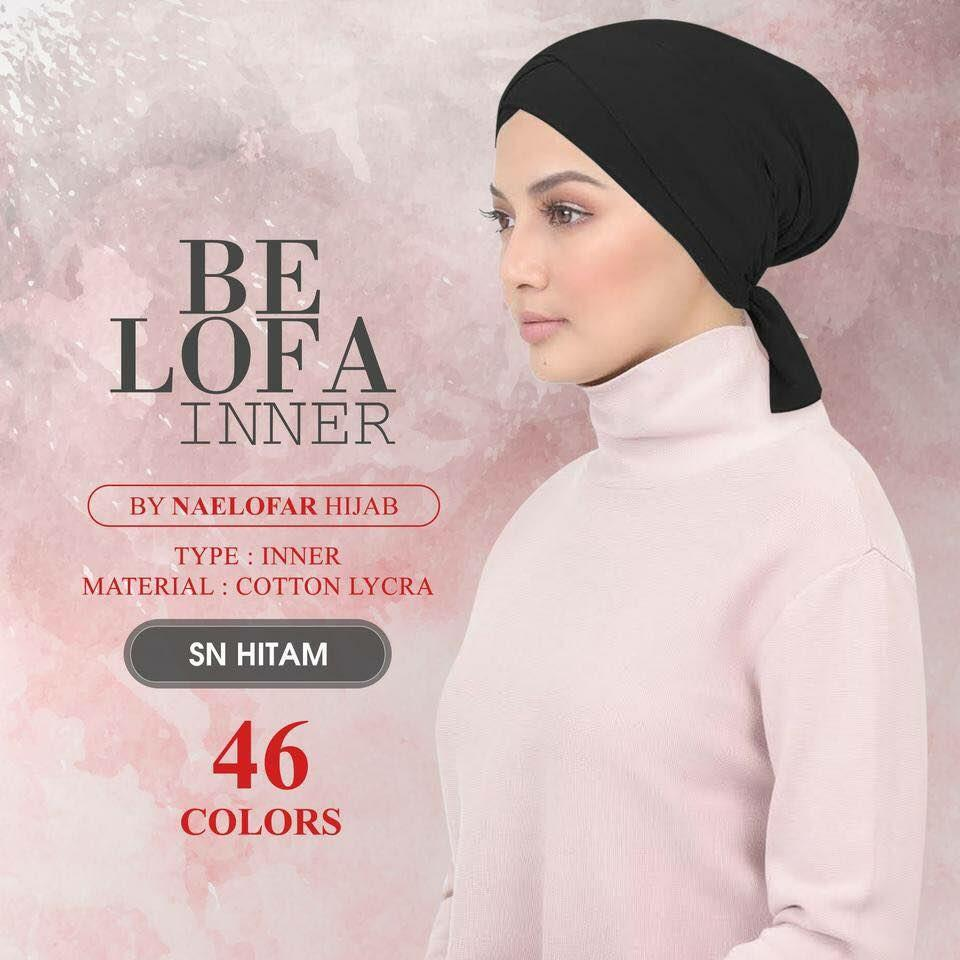Be Lofa Inner* Naelofar Hijab Inspired* Premium Lycra Cotton* Muslim Wear By Cantik Butterfly.