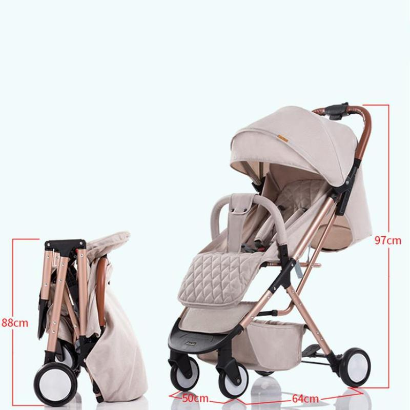 Yoya Ergonomic Baby Carriage Stroller &Smart Portable Travel Non-slip Armrest Baby Stroller&easy folding Singapore