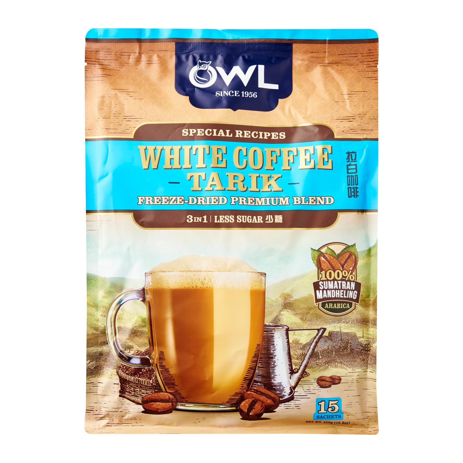OWL White Coffee Tarik - Less Sugar