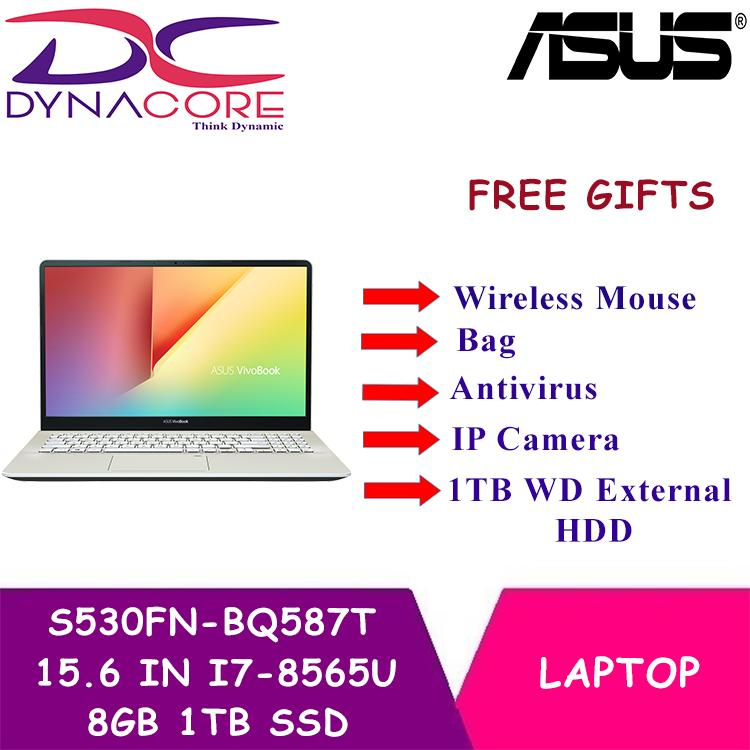 DYNACORE - ASUS S530FN-BQ587T 15.6 IN INTEL CORE I7-8565U 8GB 1TB SSD WIN 10
