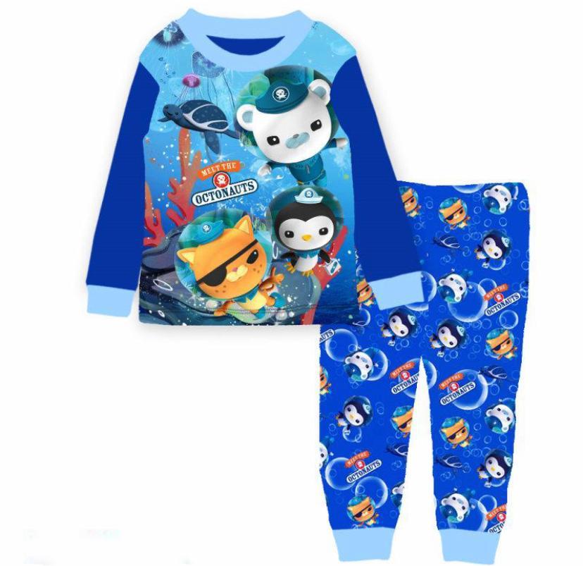 [eddalabz] Kids Pajamas L/s Ppaw/octonauts.
