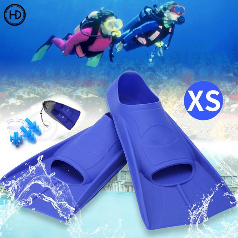 HEDA Vây bơi thoải mái cho người lớn, Bơi chân dài có thể chìm, Lặn lặn chuyên nghiệp Chân chèo nước Thể thao, Mắt cá chân, Người lớn, bơi trẻ em
